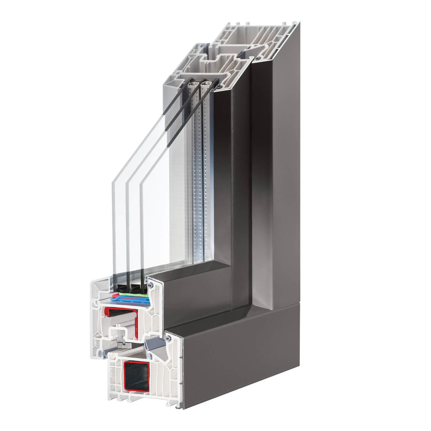 Fenster Alublende
